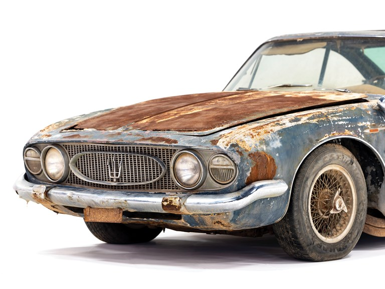Maserati 5000 GT Coupe by Allemano - 1962