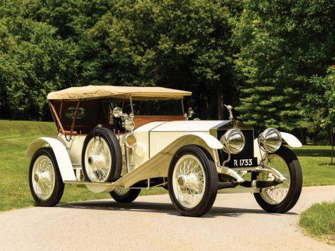 Rolls-Royce 40/50 HP Silver Ghost Sports Tourer by Barker – 1913