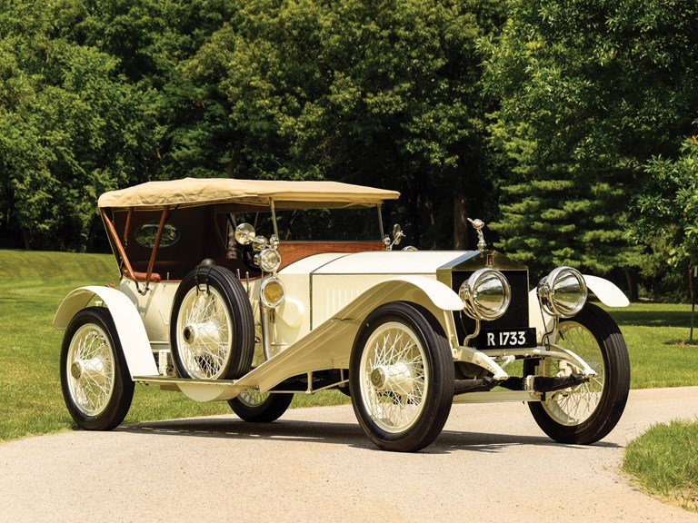 Rolls-Royce 40/50 HP Silver Ghost Sports Tourer by Barker - 1913