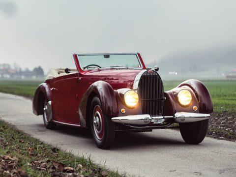 Bugatti Type 57C Stelvio by Gangloff – 1938