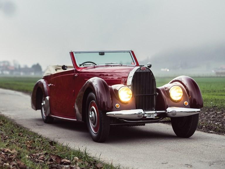 Bugatti Type 57C Stelvio by Gangloff - 1938