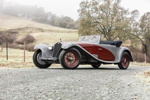 Alfa Romeo 8C 2300 Cabriolet by Figoni – 1932